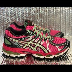 Asics Gel Nimbus 16 Running Shoes T485N Women's  8